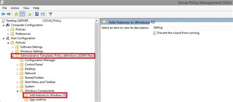install windows 10 group policy templates update gpo admx templates for windows 10 1703 creators