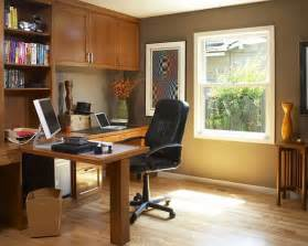 Ideas For Decorating A Home Office Traditional Home Office Design Ideas