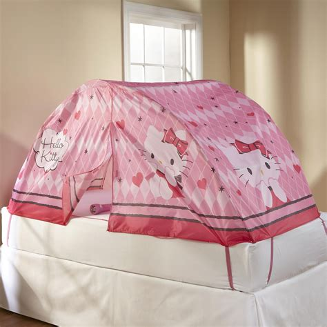 hello kitty beds sanrio hello kitty bed tent home bed bath bedding canopy curtains bed tents
