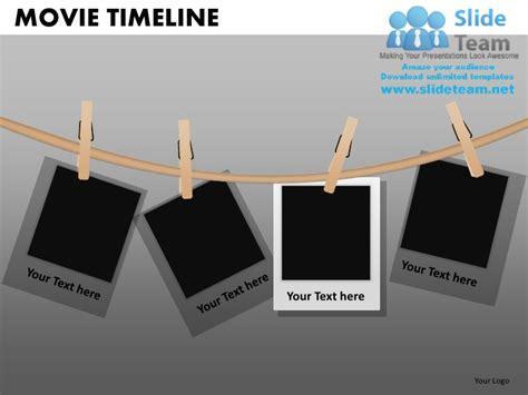 movie timeline powerpoint presentation slides db ppt templates
