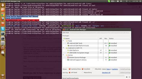 android themes for ubuntu 12 04 python no android sdk environment set for kivy in ubuntu