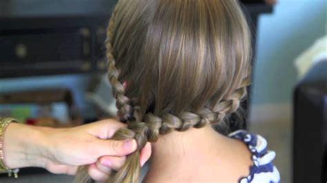 cute girl hairstyles braids youtube double lace into side braid rihanna braid cute girls