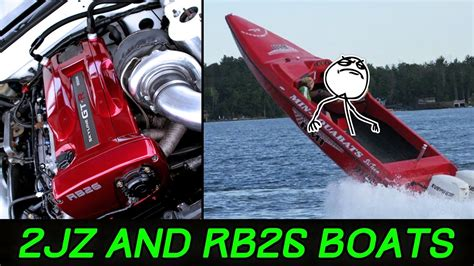 boat powered by car speed boats powered by epic car engines are 100 insane yo