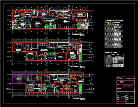 single family dwg plan  autocad designs cad