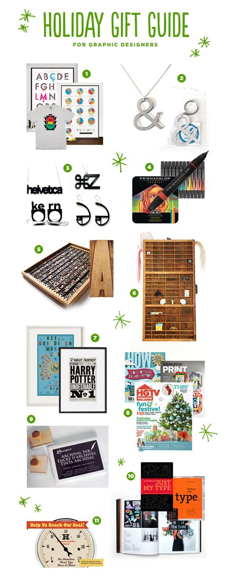 holiday gift guide for graphic designers karen kavett