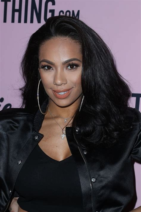 erica mena erica mena at prettylittlething x stassie launch party in
