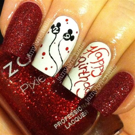 happy birthday nail design 17 best images about nails birthday on pinterest