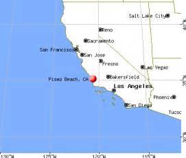 map of pismo california pismo california ca 93449 profile population