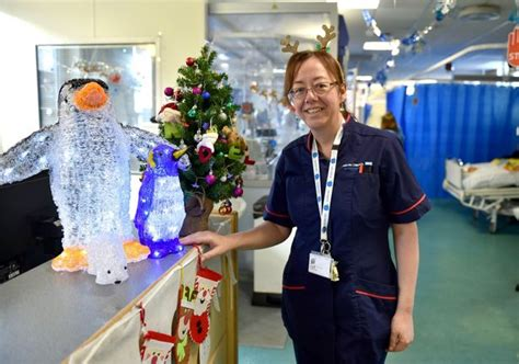 christmas decorations in hospital wards last at alder hey patients staff and parents remember children s hospital