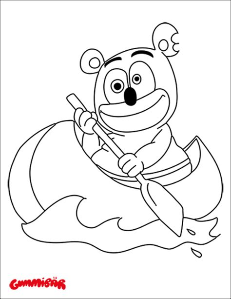 coloring pages gummy bear download a free printable gummib 228 r coloring page september