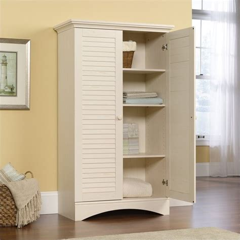 white kitchen storage cabinets storage cabinet in antiqued white 400742