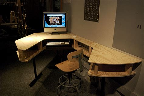 home studio desk plans studio desk building hushed61syhan