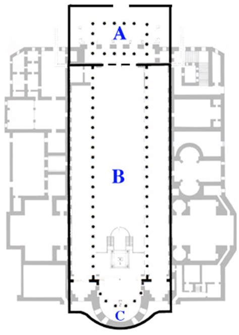 floor plan of the basilica di santa maria maggiore rome building history of the basilica of santa maria maggiore