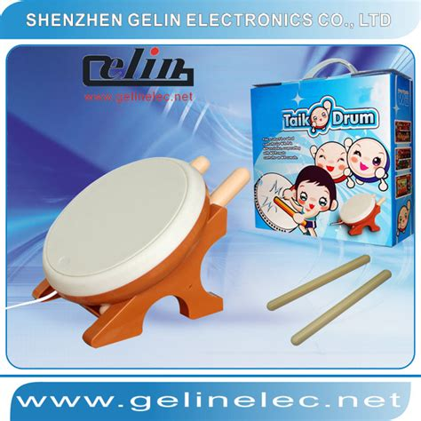 Wii Taiko Drum By Bekasigame china taiko drum controller for wii gl wi015 china wii