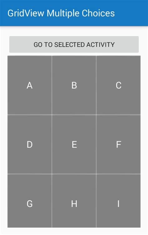 gridview layout animation gridview with multiple selection in android learn