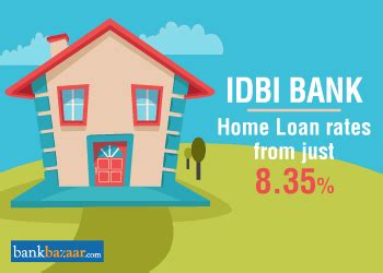 idbi housing loan idbi home loan interest rate 8 35 eligibility emi