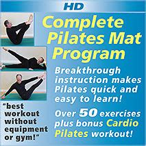 Mat Programs by Complete Pilates Mat Program Exercise Without Equipment Or