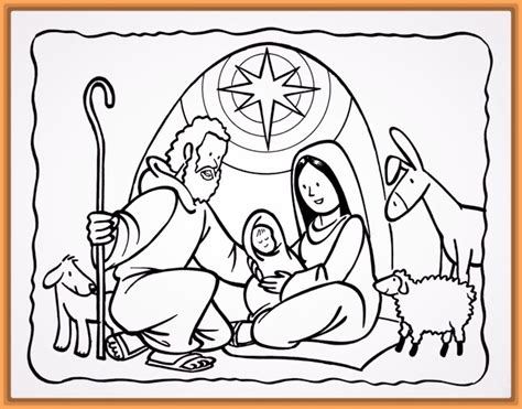 imagenes del nacimiento de jesus para pintar dibujo del nacimiento del ni 241 o jesus para imprimir fotos