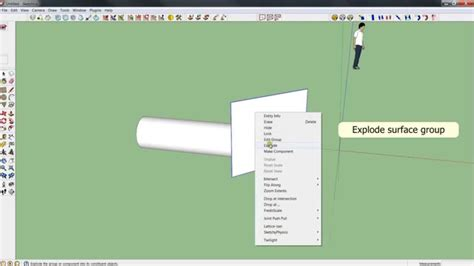 sketchup layout crop view sketchup tutorial quicktip quot cut object quot youtube