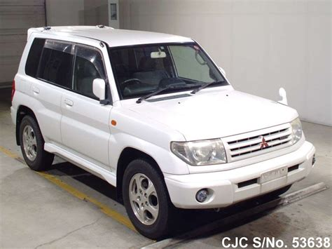 how do cars engines work 1999 mitsubishi pajero navigation system 1999 mitsubishi pajero io white for sale stock no 53638 japanese used cars exporter