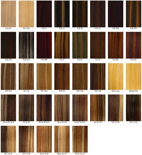 Best Hair Color Charts   Hairstyles Weekly