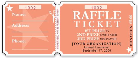 free raffle ticket template for word popular samples templates