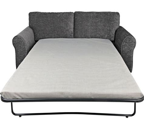 argos sofa bed buy home 2 seater fabric sofa bed charcoal at
