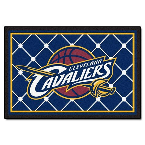 Rugs Cleveland by Cleveland Cavaliers 5 Ft X 8 Ft Area Rugfanmats 203130296