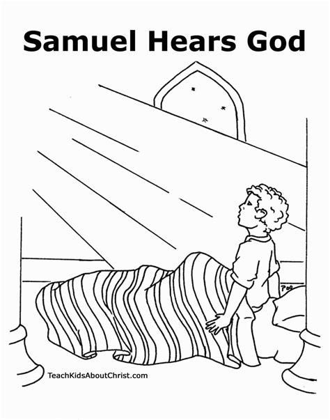 free coloring page hannah and samuel samuel coloring page coloring pages pinterest sunday