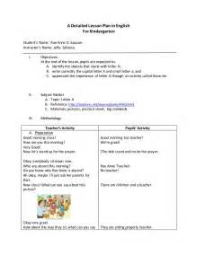 singapore math lesson plan template detailed lesson plan in for kindergarten