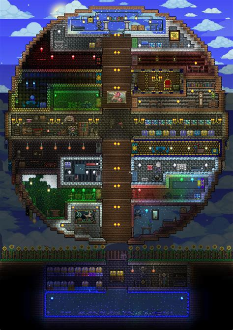 terraria house terraria p1 house by heartage on deviantart
