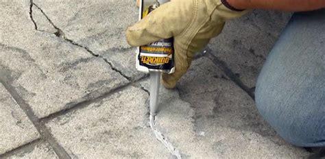 how to repair concrete patio repairing cracks in concrete today s homeowner