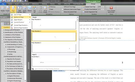 membuat nomor halaman yang berbeda dalam satu file membuat nomor halaman berbeda posisi dalam satu file mr