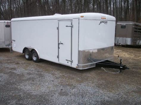 enclosed landscape trailers 2017 homesteader challenger landscape 20 cargo enclosed