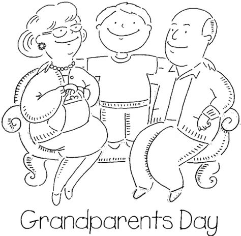 Grandparent Coloring Pages Beautiful Happy Grandparents Day Coloring Pages We Heart by Grandparent Coloring Pages