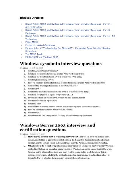 Computer Technician Questions Technical Questions Networking