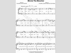 "Cab Calloway ""Minnie the Moocher"" Sheet Music (Easy Piano ... Minnie The Moocher"