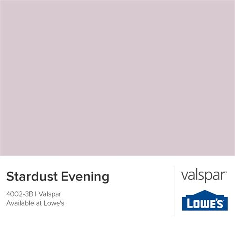 stardust evening from valspar for the home