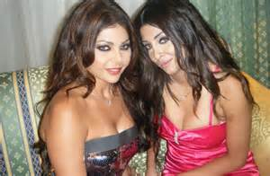Sister act haifa wehbe disowns her sister rola al bawaba