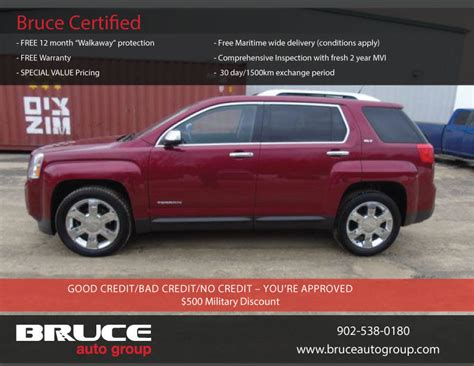 gmc terrain 6 cyl used 2012 gmc terrain 3 0l 6 cyl 6 spd automatic awd slt 2