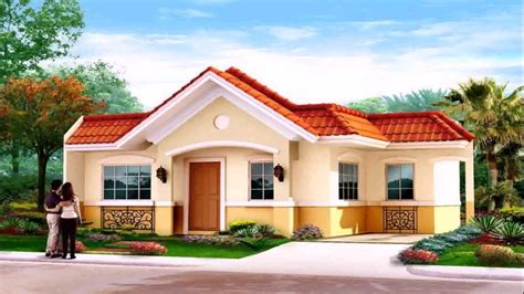 single houses house designs single floor philippines