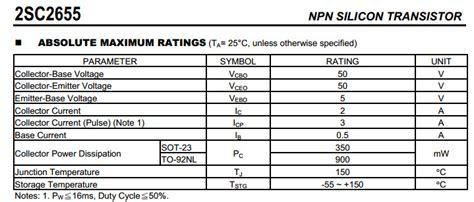 Mip2m4 1 2sc2655 ทรานซ สเตอร npn 50v 2a