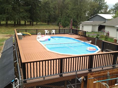 backyard deck and pool designs swiming pools storage cube with beach ball also pool