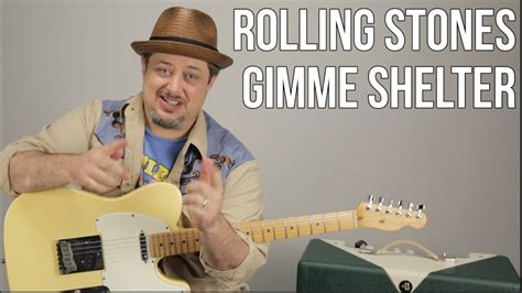 tutorial guitar rolling stones the rolling stones gimme shelter how to play on guitar