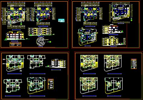 2 story house plans 2d dwg plan for autocad designs cad