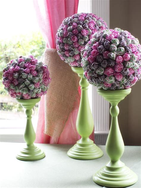 lollipop topiary how to host a brunch wedding shower entertaining diy