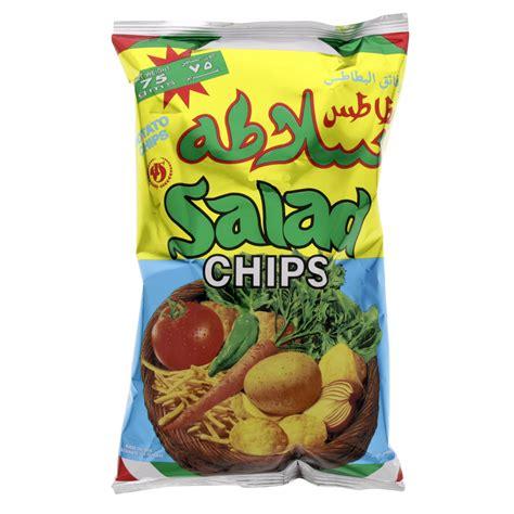 buy salad chips 75 gm online in uae abu dhabi qatar - Chip Qatar