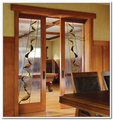 stained glass doors interior stained glass doors interior stained glass