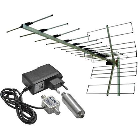 Booster Antena Tv Digital antena tv externa uhf 15dbi prohd 1100 booster