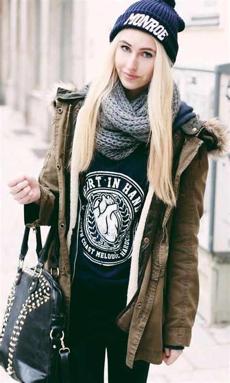 Last Chance Winter Coats From Zara by J Zara Parka Jacket In Bandshirt